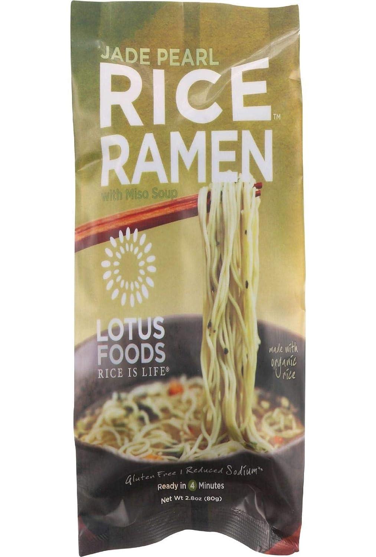 Lotus Foods Rice Ramen, Jade Pearl Rice with Miso Soup, 2.8 oz