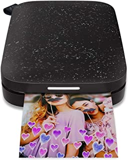 HP Sprocket 200-1AS86A Bluetooth Photo Printer-Black