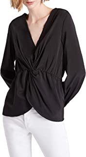 Our Heritage Twist Front Blouse