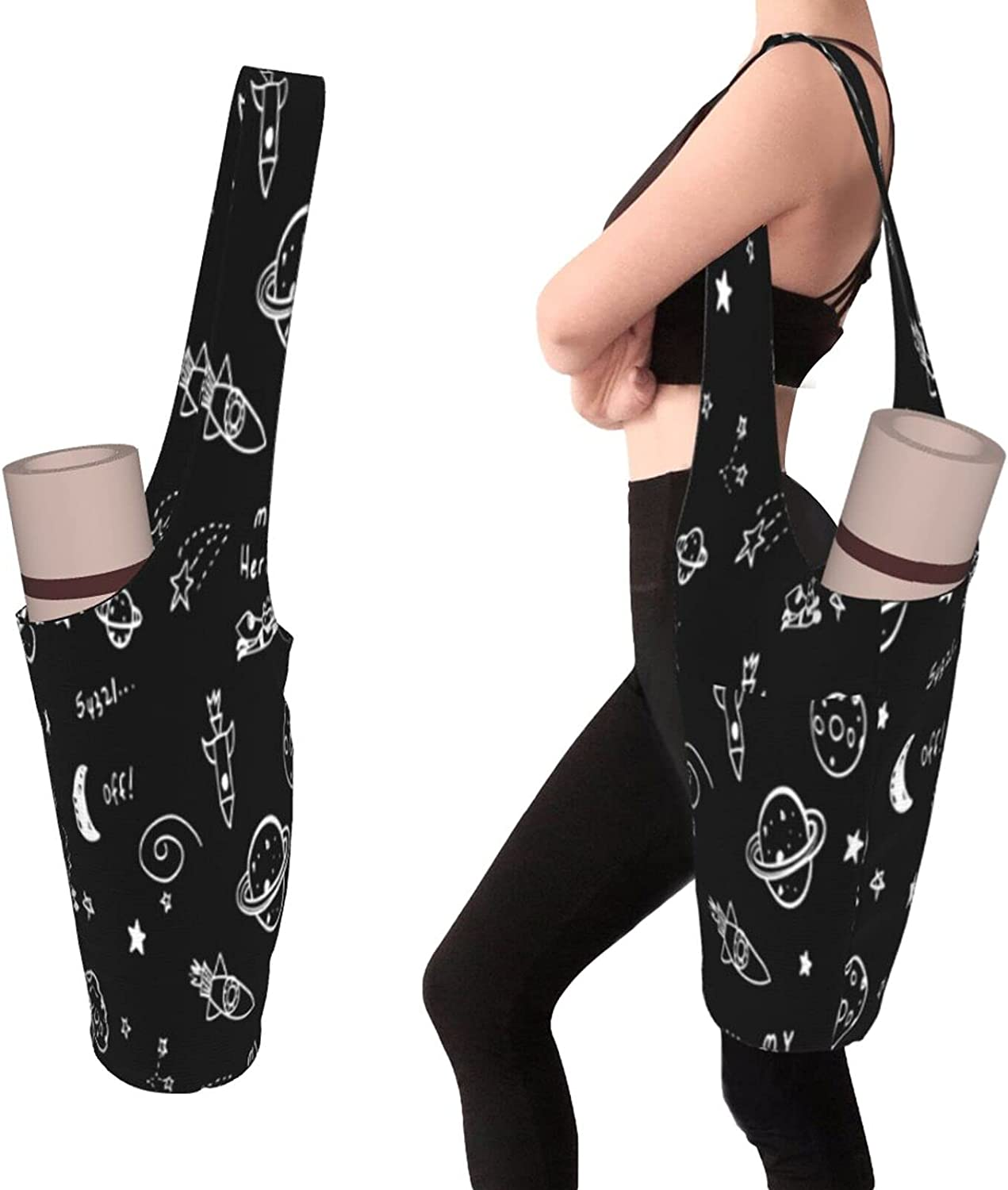 Yoga Mats Bag With Pockets Size Thick Access Large Men Oklahoma City Mall Discount mail order