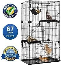 Large 3-Tier Cat Cage Pet Playpen Cat Crate Kennels 67
