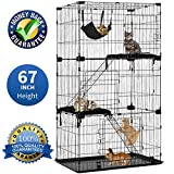 Best Cat Cages - Large 3-Tier Cat Cage Pet Playpen Cat Crate Review