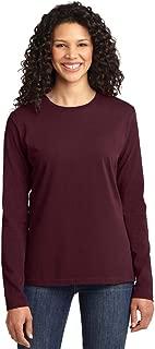Port & Company Ladies Long Sleeve 100% Cotton T-Shirt