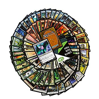 Cosmic Games 101 Magic The Gathering Rares Collection | 101 Assorted MTG Gold Symbol Rare Cards + 1 Planeswalker | Includes Huge Variety from Several Expansions | Great Value Bulk MTG Rares Lot