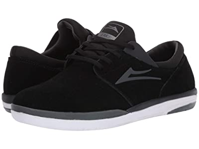 Lakai Fremont (Black/Charcoal Suede) Men