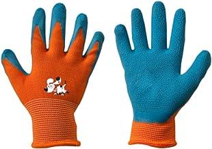 Werkhandschoenen voor kinderen, latex, beschermende handschoenen, tuinhandschoenen, handschoenen, kinderhandschoenen, oran...