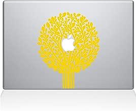 "The Decal Guru 2064-MAC-13P-SY Tree of Life Topiary Decal Vinyl Sticker, Yellow, 13\"" MacBook Pro (2015 & Older)"