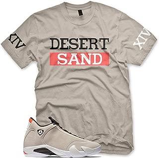 jordan 14 desert sand shirt