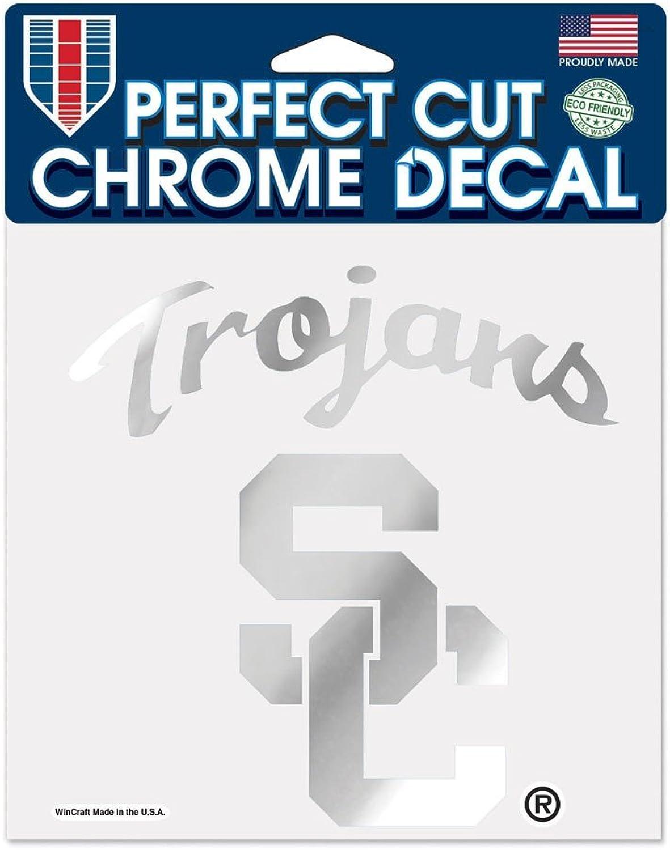 NCAA Chrome Perfect Cut Decal