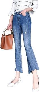 7a400a93a8 Amazon.it: pantaloni a zampa delefante - Blu