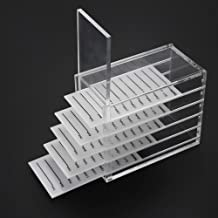 Acrylic Cosmetic Storage Makeup Organizer Clear Eyelash Storage Box Eyelashes Glue Pallet Holders 5 Layers Grafting Eyelash Extension Tool