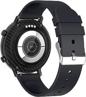 Annjom Rastreador de Actividad Deportiva, con Bluetooth Call Reloj Inteligente Multifuncional de 1,28 Pulgadas, para conducción Deportiva