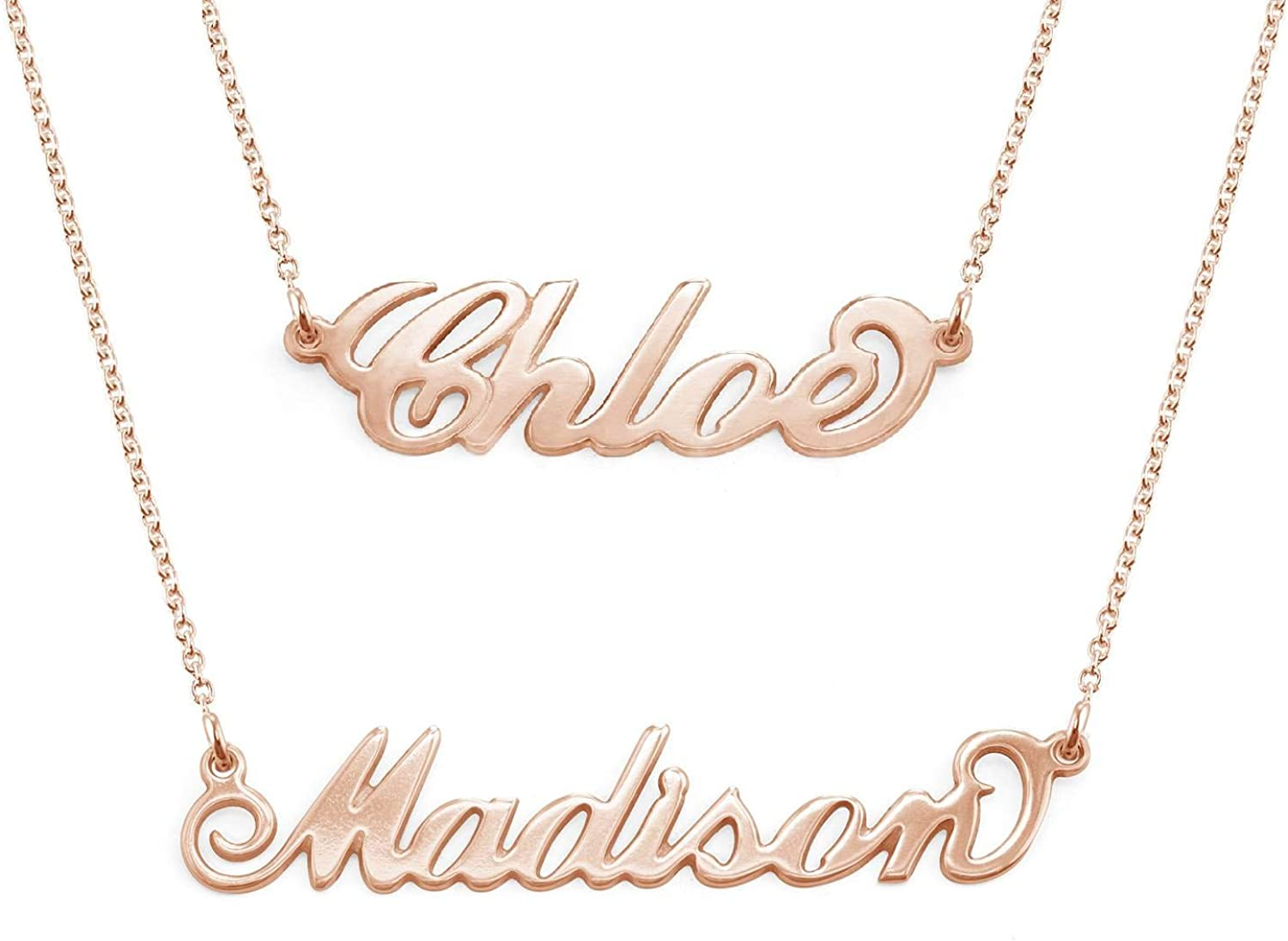 MyNameNecklace Personalized 高級 18%OFF Name Necklace-Nameplate Christmas Je