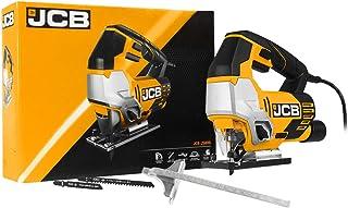JCB - Jigsaw Tool - 800W - Power Tools - Multi Tool - Wood Saw, Metal Saw, Plastic Saw - 4 Pendulum Settings - Corded Elec...