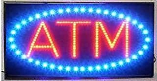 """LED Neon Light Open Sign with Animation On/Off and Power On/Off Two Switchs for Business by""""E Onsale"""" (ATM B86)"""