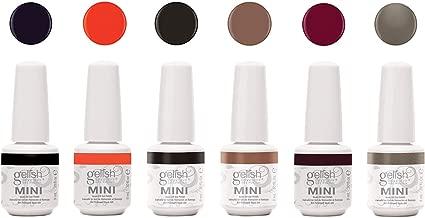 Gelish Mini Rendezvous Collection 9 mL Manicure Pedicure Soak Off Gel Nail Polish Set, 6 Pack