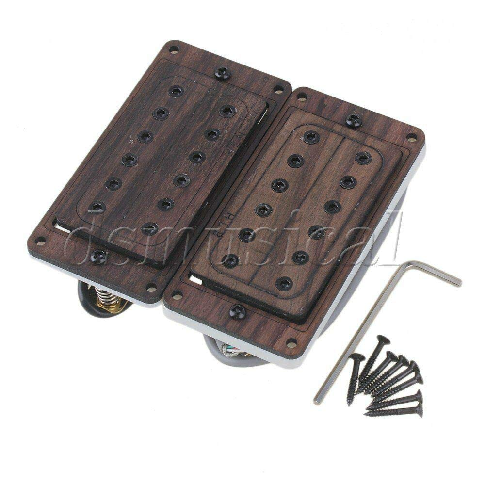Guitar specialty shop Parts 2X Rose Wood Neck Pickups Electric 52mm Bridge 50 Spring new work