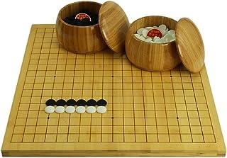Luckyw Dubbelsidig schackbräde Gobang/kinesisk schackbräda en sida