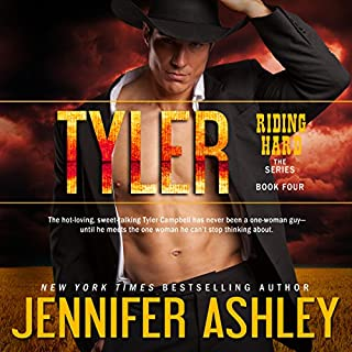 Tyler     Riding Hard, Book 4              Written by:                                                                                                                                 Jennifer Ashley                               Narrated by:                                                                                                                                 Eric G. Dove                      Length: 7 hrs and 13 mins     1 rating     Overall 5.0