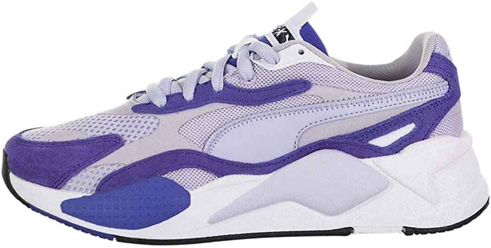 PUMA Womens Rs-X3 Super Sneakers Shoes Casual - Purple