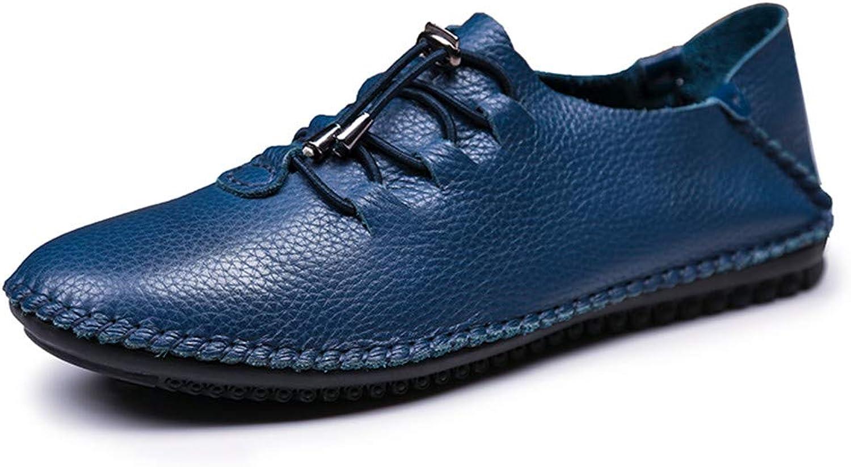 Mans Mans Mans skor Casual Comfort Platt Loafers och Slip -Ons  Four Seasons Comfort mode Lazy skor Driving skor.  motverka äkta