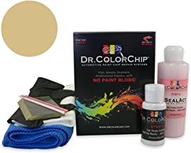 Dr. ColorChip BMW 320 Automobile Paint - Savannah Beige 187 - Squirt-n-Squeegee Kit