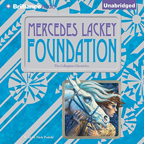 Foundation Audiobook By Mercedes Lackey cover art
