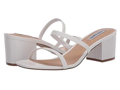 Steve Madden Issy Heeled Sandal (White) Women