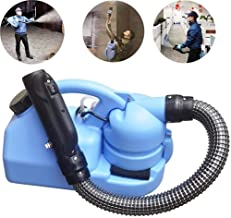 7L Electric ULV Sprayer,Portable Fogger Disinfection Machine,Intelligent Control System,for Company Hospital School Hotel ...