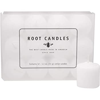 Root 18 Count Unscented 20 Hour Unscented Votive Candles