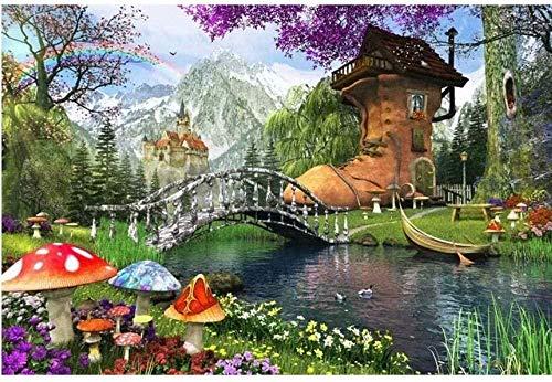 Cartoon große Stiefel Puzzle 1000 Stück Holz Puzzle Anime Ölgemälde Puzzle herausfordernde Home Puzzle Spiel Poster Sammlung Puzzle Dekompression pädagogische Spielzeug Geschenk