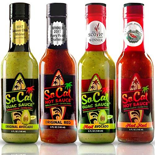 Guac & Hot Sauce Variety Pack