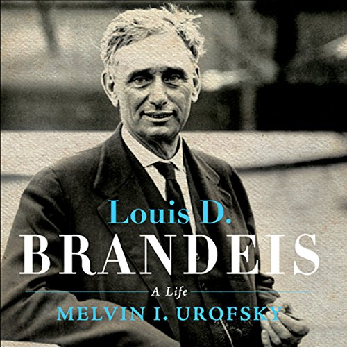 Louis D. Brandeis audiobook cover art