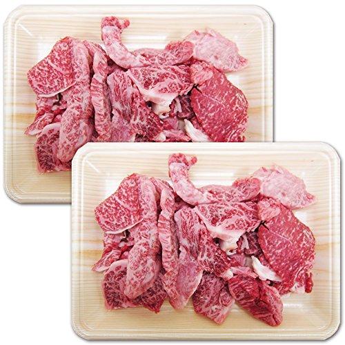 【肉のひぐち】飛騨牛切り落とし焼肉400g×2パック 合計800g