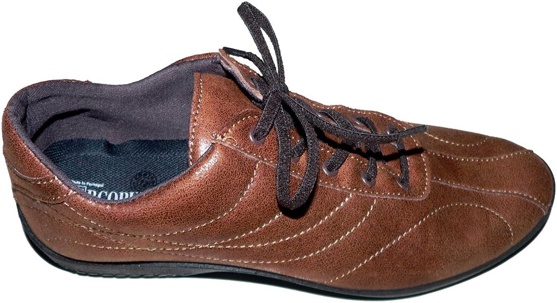 Arcopédico Men's Lace-Up Flats brown brown 8