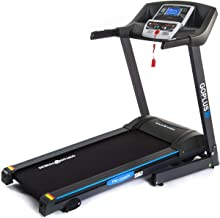 Goplus 2.25HP Electric Folding Treadmill with Incline, Walking Running Jogging Fitness Machine with Blue Backlit LCD Display for Home & Gym Cardio Fitness