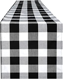 Best red check table runner Reviews