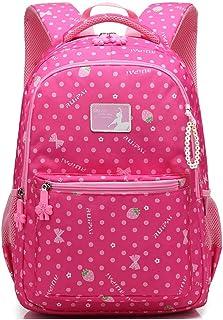 XHHWZB Primary School Schoolbag Girl 1-3-4-5 Grade 6-12 Year Old Girl Schoolbag Primary School Backpack Children's School Bag