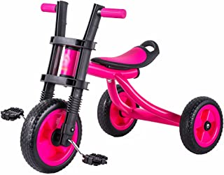Children Trike Tricycle Baby Bicycle Bike Toy Car Baby Carriage 2-5 Years Old Kids Wheels  Color Red