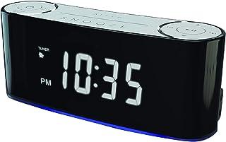 SYLVANIA SCR1229BT Bluetooth Smart Set Mood Light Clock Radio