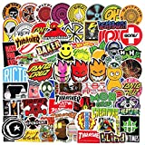 Cool Brand Skateboard Stickers 100pcs Teens Skate Stickers for Laptop Water Bottles Car Luggage Bicycle Helmet Motorcycle Bumper