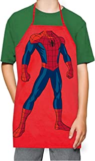 ICUP Marvel - Spider-Man Kids 100% Cotton Red Apron