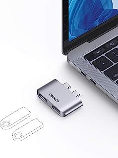 UGREEN HUB USB C, Adaptador USB C a 2 USB 3.1 10Gbps, Compatible con MacBook Pro M1 2020 2019 2018 2017 Macbook Air M1 202...