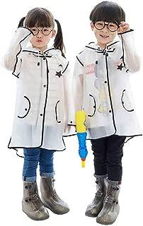 WWWANG Children's Raincoat Baby Girl Boy Transparent Poncho 1-3 Kindergarten Children 2-6 Korean Cute Raincoat