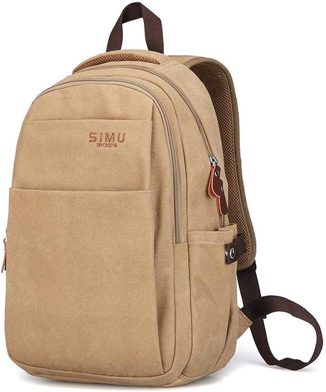 Lounayy Jugendliche Sportrucksack Schulrucksack Schulranzen Mode Schultasche Freizeitrucksack Daypacks (Farbe   Khaki, Größe   One Größe)