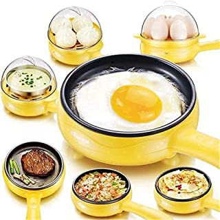 RYLAN Multifunctional 2 in 1 Electric Egg Boiling Steamer Egg Frying Pan Egg Boiler Electric Automatic off with Egg Boiler...