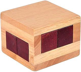 cfdd340db936 Ogquaton Un rompecabezas de madera para juegos mentales,un rompecabezas,una  caja de cerraduras