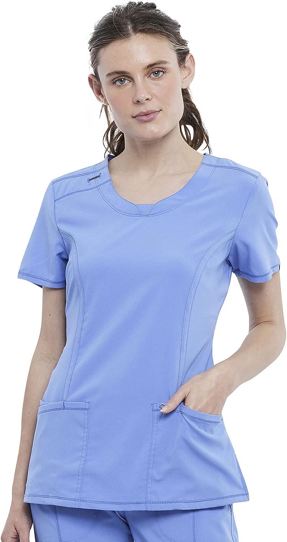 Cherokee Women's Infinity Crew Neck Scrubs Shirt