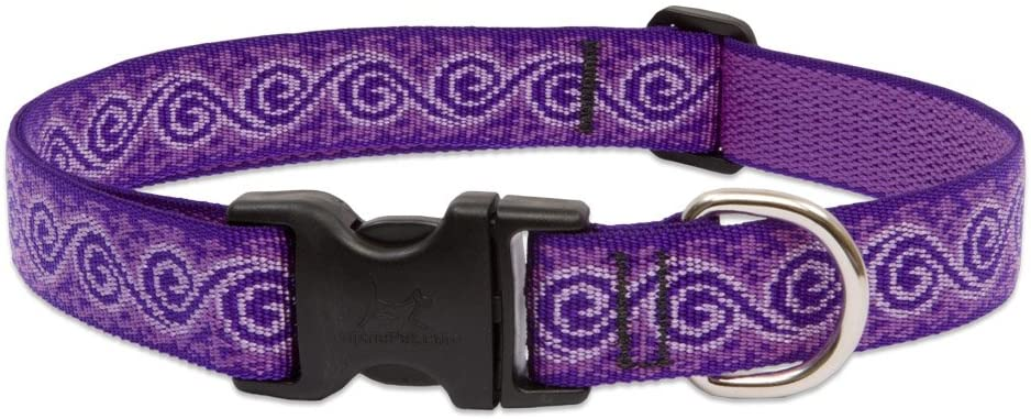 Lupine 1 Inch Jelly Roll Adjustable and Cheap Medium Sale SALE% OFF for Dog Collar La