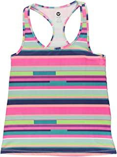 Roxy Women Cut Back Tank Top Shirt Multi M